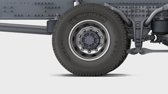 Close up image of the stabiliser on GRAS-G2 suspension