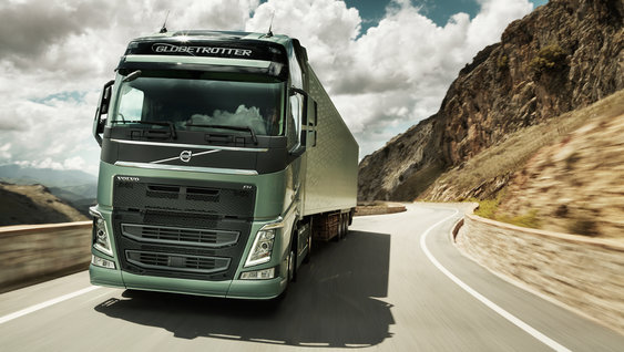 Lighter than before - the Volvo FH chassis