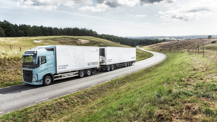 Volvo FH LNG truck