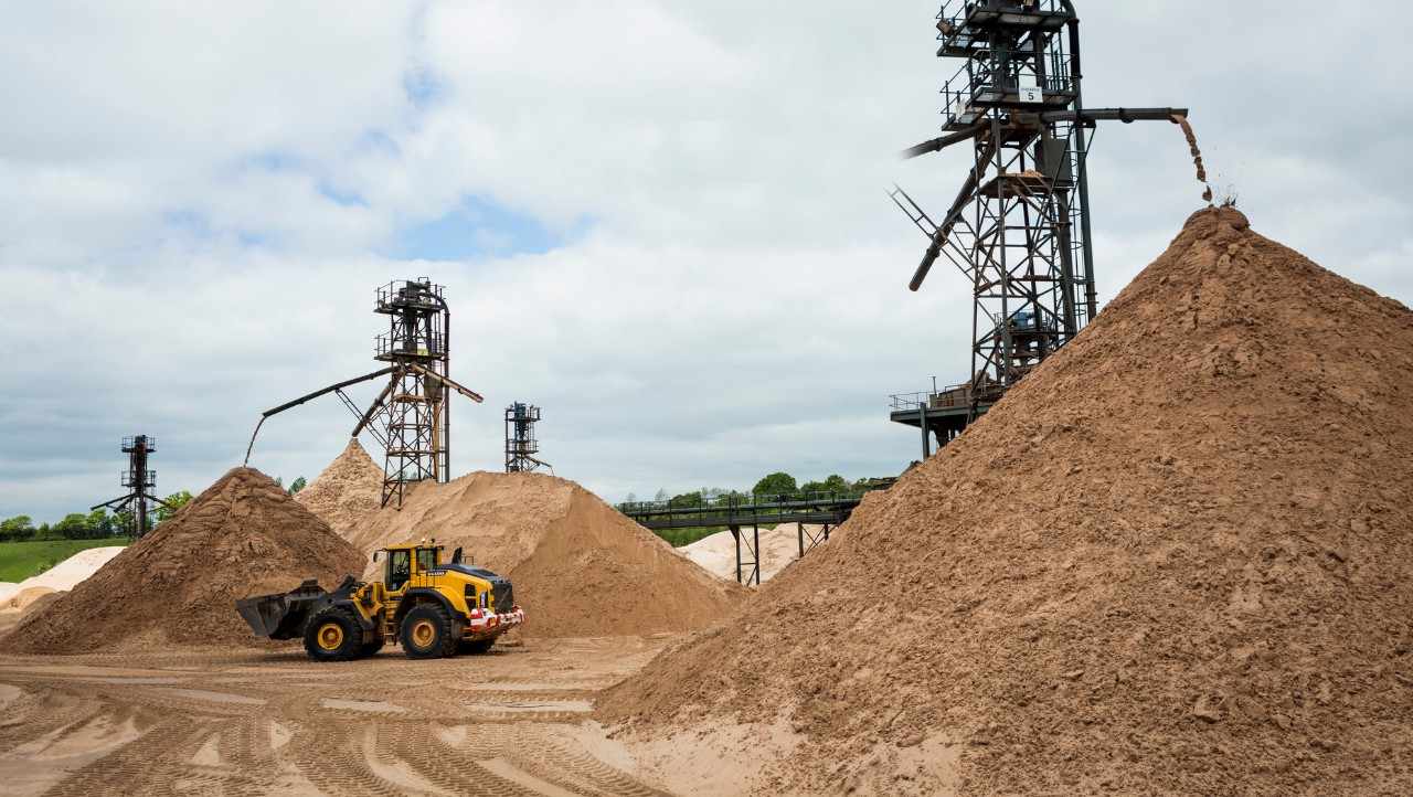 Bathgate Group's sand quarry.