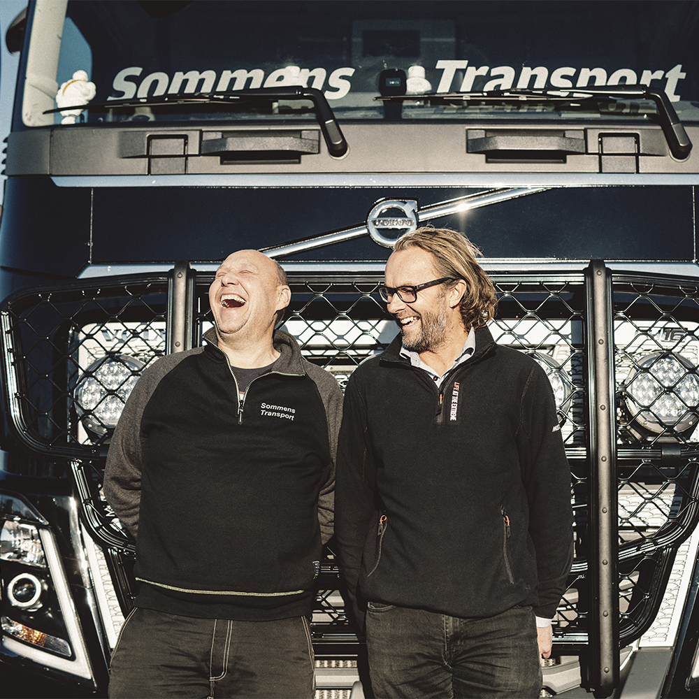 Knatte with Volvo dealer