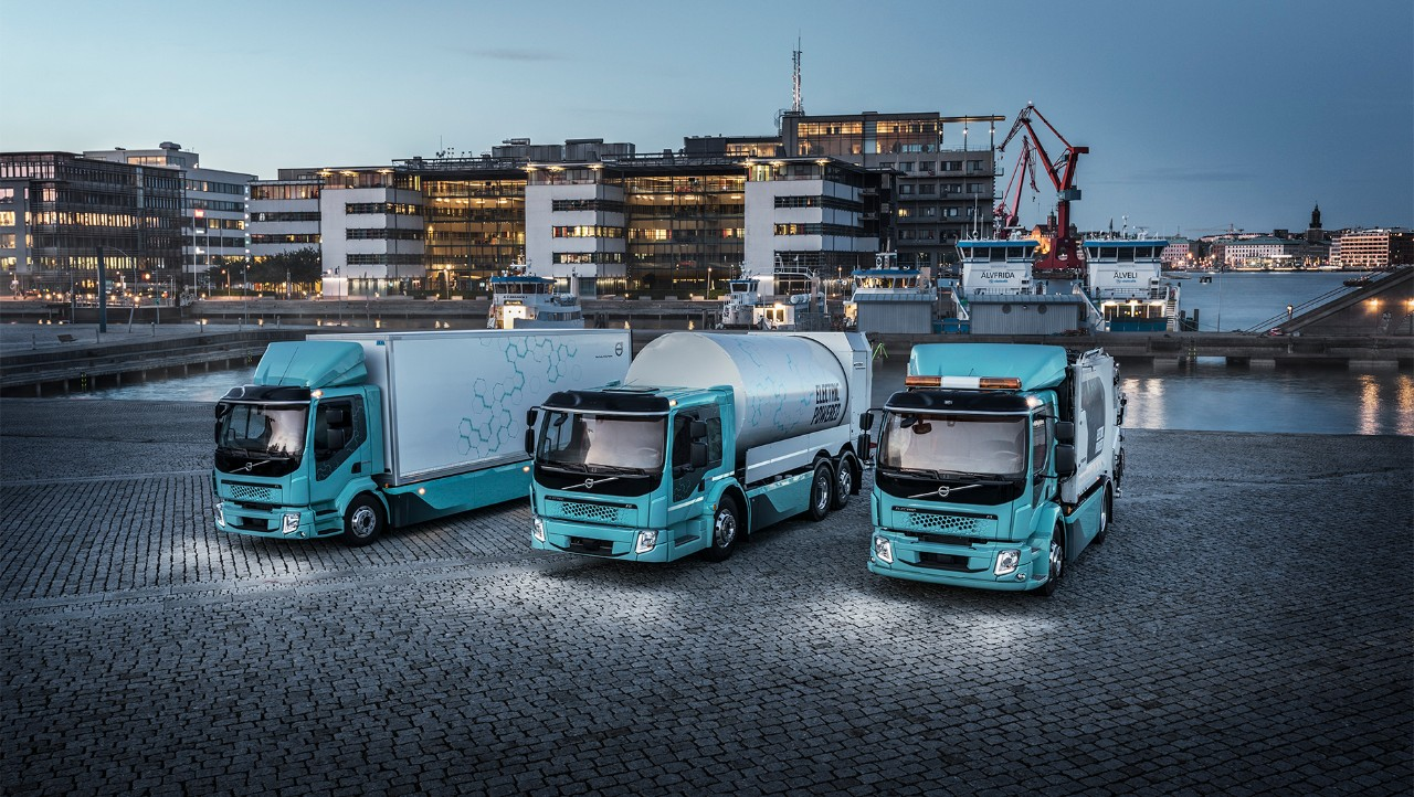 Volvo Trucks' electric range